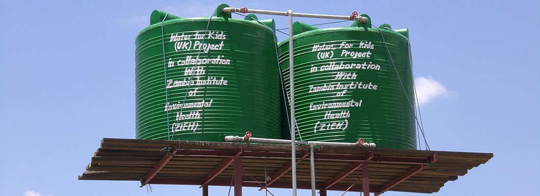 Water Towers in Zambia