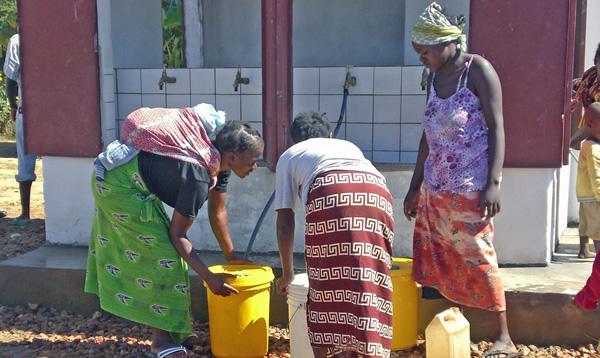 Fumbelo water kiosk