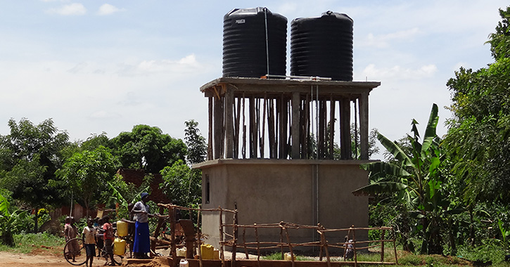 Naitandu Water Towers